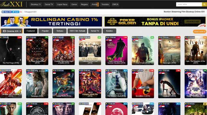 Cara Download Film IndoXXI