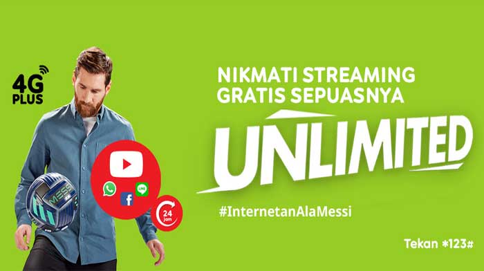 Paket Internet Unlimited IM3 Ooredoo