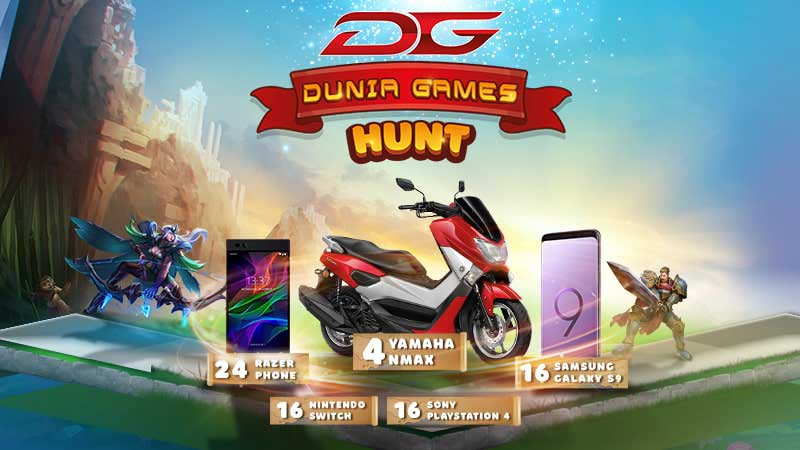 Dunia Games Hunt 2018