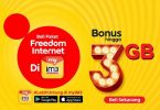 Paket Freedom Internet Plus