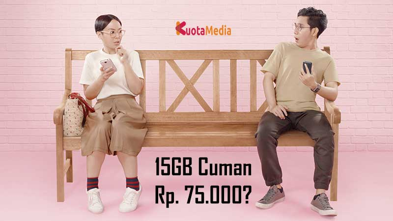 Paket Internet Telkomsel 15GB