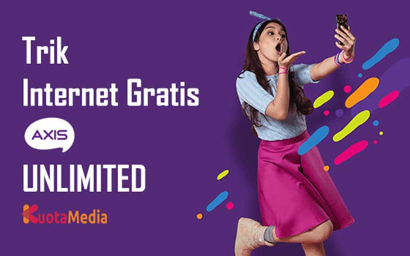 Trik Internet Gratis AXIS Unlimited