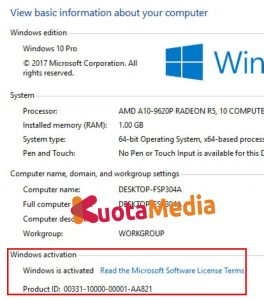 Cara Aktivasi Windows 10 30