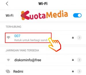 Cara Share Password Wifi Barcode 2