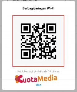 Cara Share Password Wifi Barcode 3
