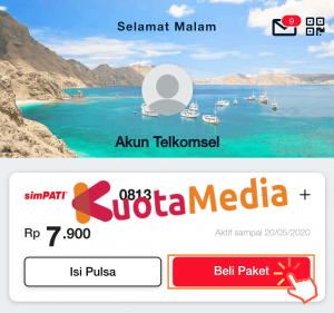 Paket MAXStream Di My Telkomsel 3