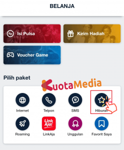 Paket MAXStream Di My Telkomsel 5