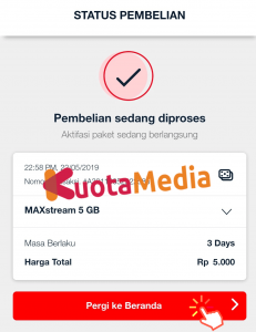 Paket MAXStream Di My Telkomsel 8