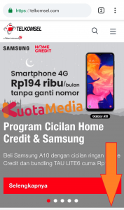 Paket MAXStream Di Website Telkomsel 1