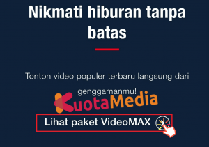 Paket MAXStream Di Website Telkomsel 3
