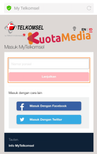 Paket MAXStream Di Website Telkomsel 5