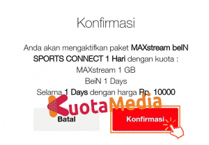 Paket MAXStream Di Website Telkomsel 7