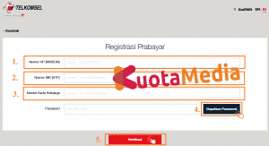Cara Registrasi Kartu Telkomsel Via Website