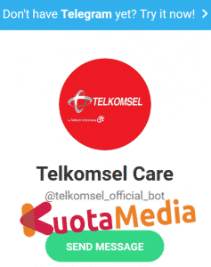 Layanan Telkomsel Via Aplikasi Telegram
