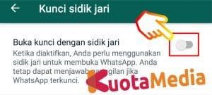 Cara Mengunci WhatsApp Menggunakan Fingerprint 6