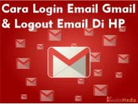 Cara Login Email Gmail Logout Email Di HP Via App dan Browser
