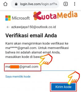 Cara Mengganti Password Email Outlook Di HP Via Browser 12