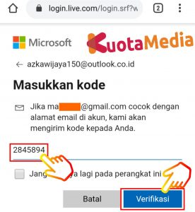 Cara Mengganti Password Email Outlook Di HP Via Browser 13