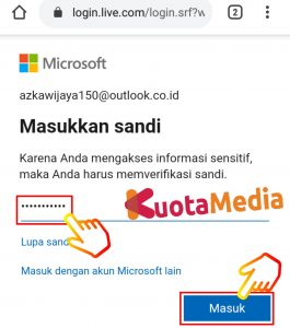 Cara Mengganti Password Email Outlook Di HP Via Browser 15