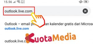 Cara Mengganti Password Email Outlook Di HP Via Browser 3
