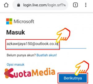 Cara Mengganti Password Email Outlook Di HP Via Browser 5