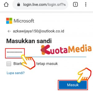 Cara Mengganti Password Email Outlook Di HP Via Browser 6