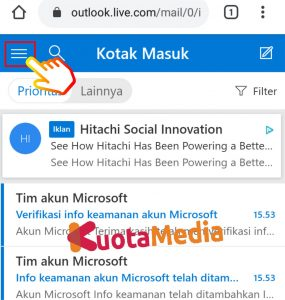 Cara Mengganti Password Email Outlook Di HP Via Browser 7