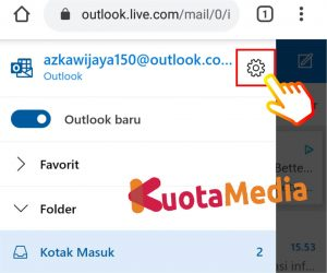 Cara Mengganti Password Email Outlook Di HP Via Browser 8