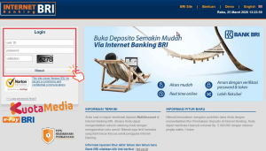 Top Up Brizzi Internet Banking BRI Browser 1