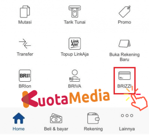 Top Up Brizzi Lewat Aplikasi Brimo 2