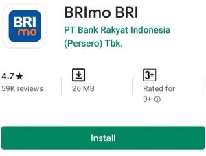 Top Up Brizzi Lewat Aplikasi Brimo