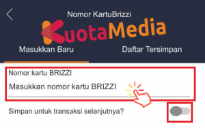 Top Up Brizzi Lewat Aplikasi Brimo 4
