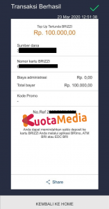 Top Up Brizzi Lewat Aplikasi Brimo 8