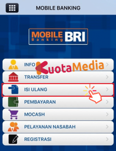 Top Up Brizzi Lewat BRI Mobile 2