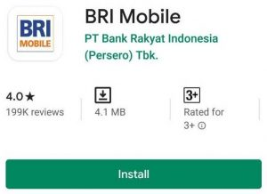 Top Up Brizzi Lewat BRI Mobile