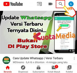 Cara Share Membagikan Video Youtube ke Status WhatsApp 1