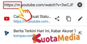 Cara Share Membagikan Video Youtube ke Status WhatsApp 10