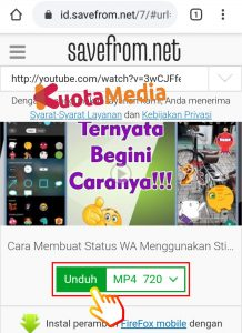 Cara Share Membagikan Video Youtube ke Status WhatsApp 12