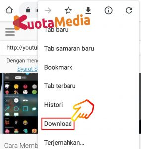 Cara Share Membagikan Video Youtube ke Status WhatsApp 13