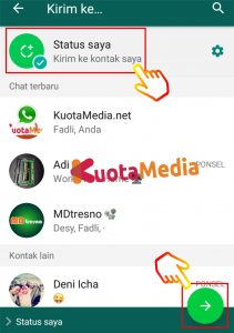 Cara Share Membagikan Video Youtube ke Status WhatsApp 17