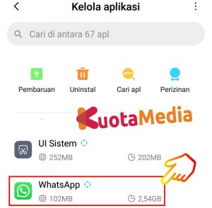 Cara Share Membagikan Video Youtube ke Status WhatsApp 25