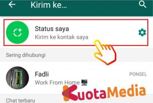 Cara Upload Video Panjang Di Status Whatsapp 8