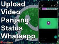 Cara Upload Video Panjang di Status WhatsApp