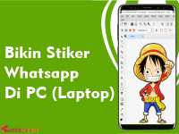 Cara Membuat Stiker Whatsapp Di PC Laptop