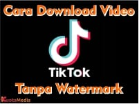 Cara Download Video Tiktok Tanpa Watermark tulisan tiktok Online
