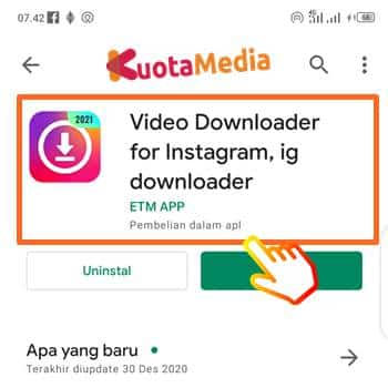 Cara Download Postingan Instagram 1