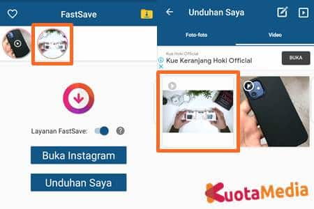 Cara Download Postingan Instagram 11