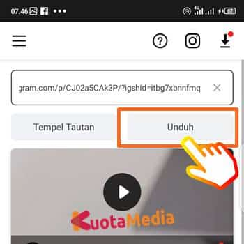 Cara Download Postingan Instagram 4