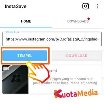 Cara Download Postingan Instagram 7
