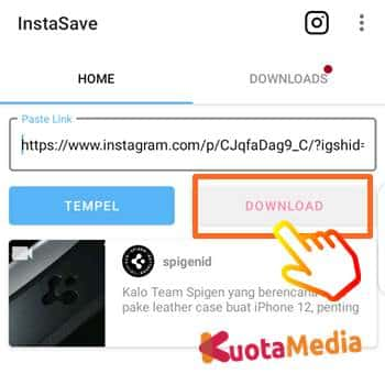 Cara Download Postingan Instagram 8